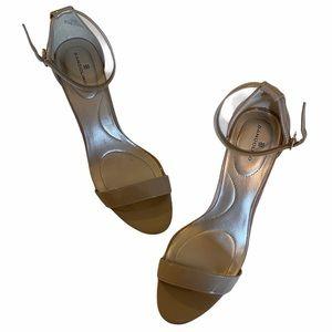 BANDOLINO Open Toe Ankle Strap Heel